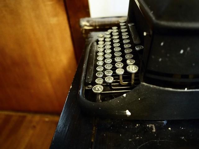 my aunt's typewriter