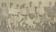 Temporada 1957/58: formación del Emeritense, de Mérida (Badajoz)
