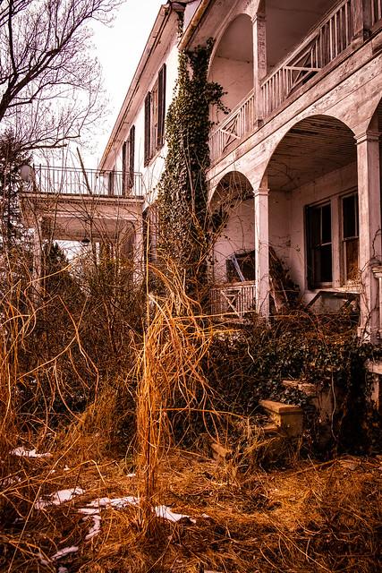 Abandoned : Terracing
