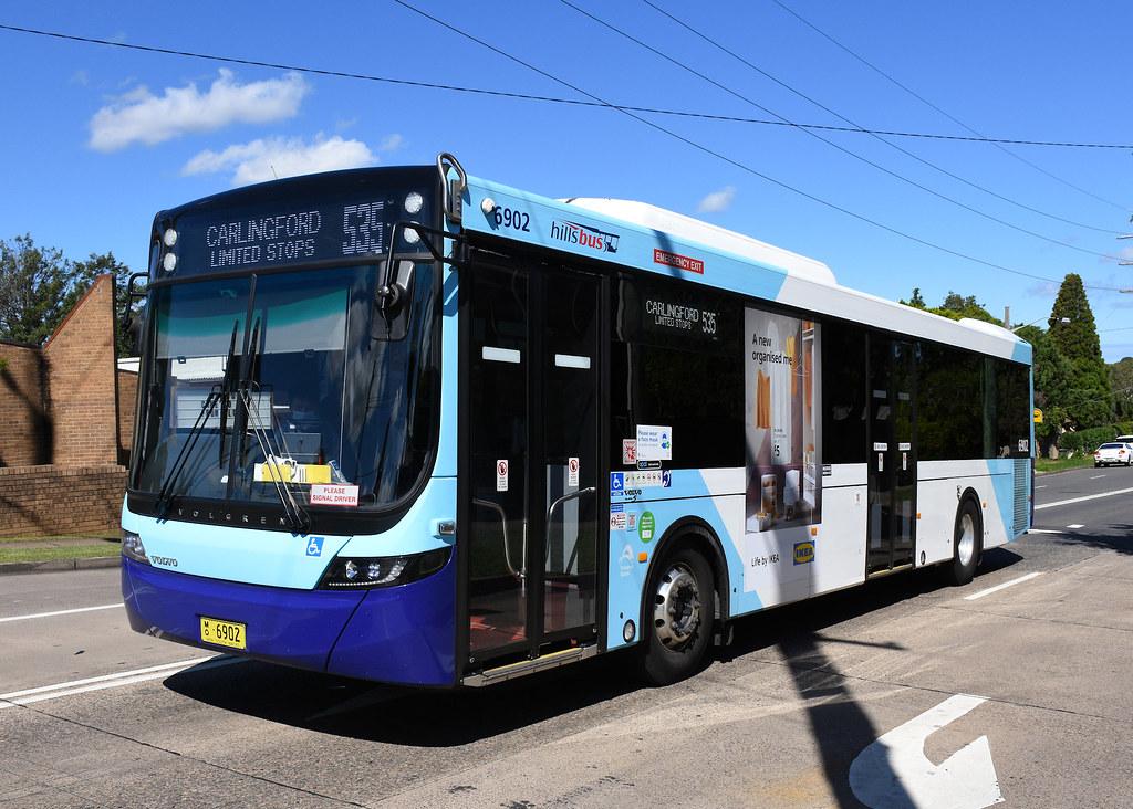 Bus 6902, Dundas, Sydney, NSW.