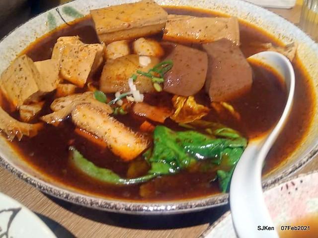 Taiwan spicy hot  braised dishes「老翔記麻辣燙滷味店」at Taipei, Taiwan, SJKen, Feb 7, 2021.