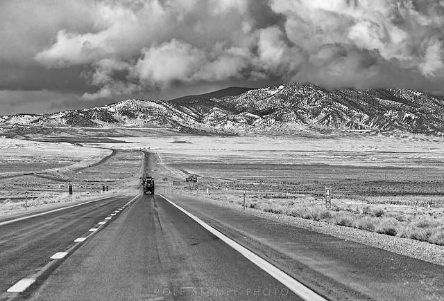 Interstate 80 at Pliot Peak (mile 400)