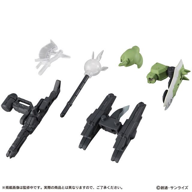 機動戰士鋼彈 MOBILE SUIT ENSEMBLE 第 18 彈情報公開 銀彈·鎮壓者、薩克戰士等人氣機體登場!