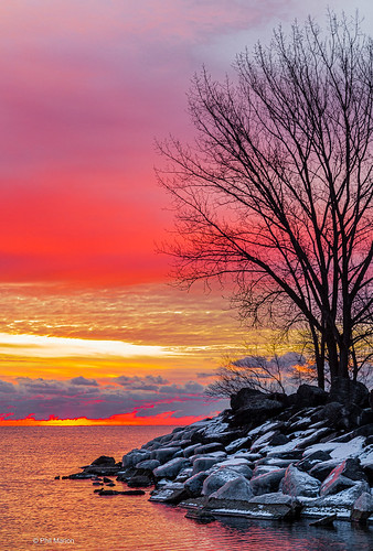 Sunrise over Lake Ontario at Woodbine Beach | by Phil Marion (187 million views - THANKS)