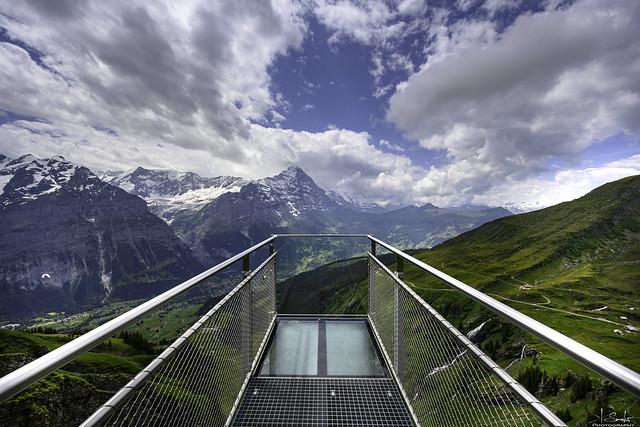 First Cliff Walk - Grindelwald - Bern - Switzerland