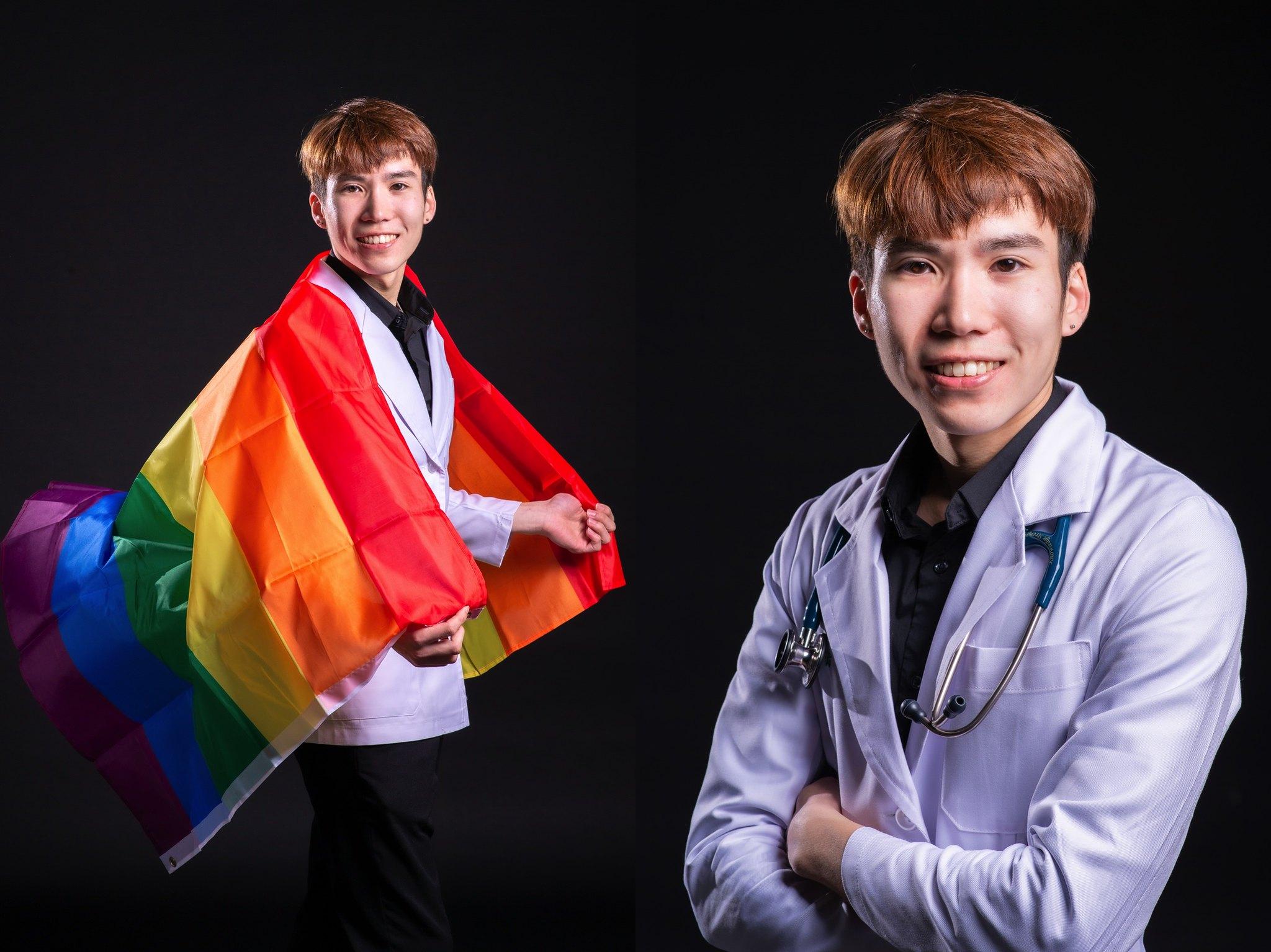 中國醫藥大學醫學院M60白袍形象照_12