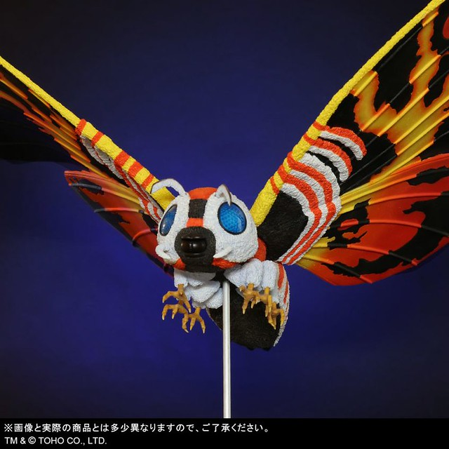 X-PLUS「東寶大怪獸系列 摩斯拉(1992) 」06月發售 再現極彩色美麗雙翼!