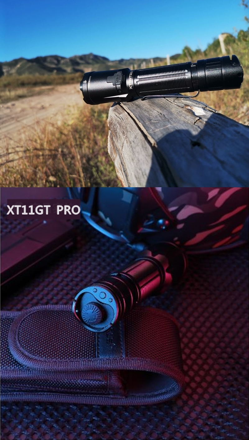 01 KLARUS XT11GT Pro 戰術手電筒 戰術雙開關