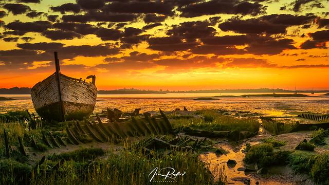 Maldon Wreck Sunrise [Explored]