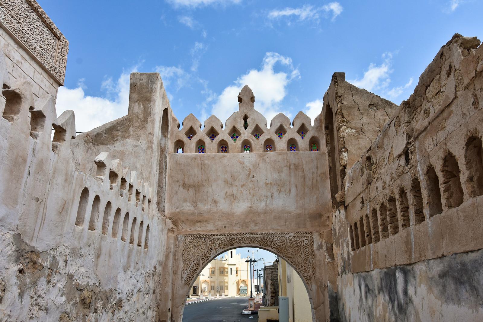 Detail of pearl merchant's house, early 20th century, Farasan Island, Jazan Region, Saudi Arabia  (2)