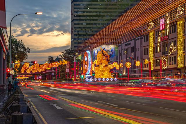 Chinese New Year Celebration 2021 @ ChinaTown, Singapore