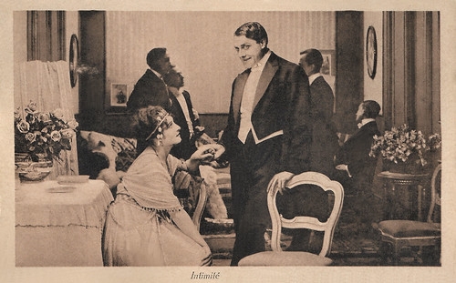 Andrea Habay in L'aigrette (1917)