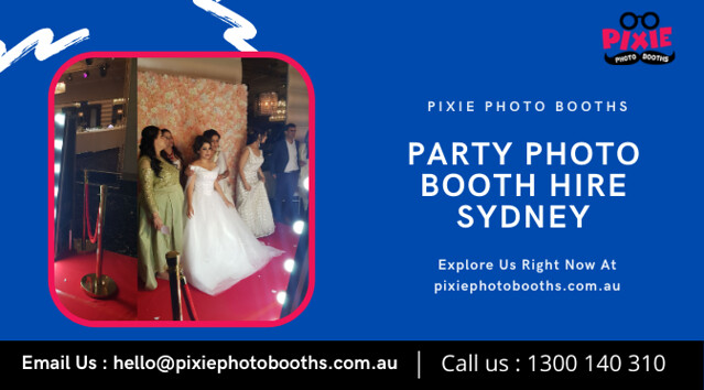 Affordable and Quirky Party Photo Booth Hire in Sydney
