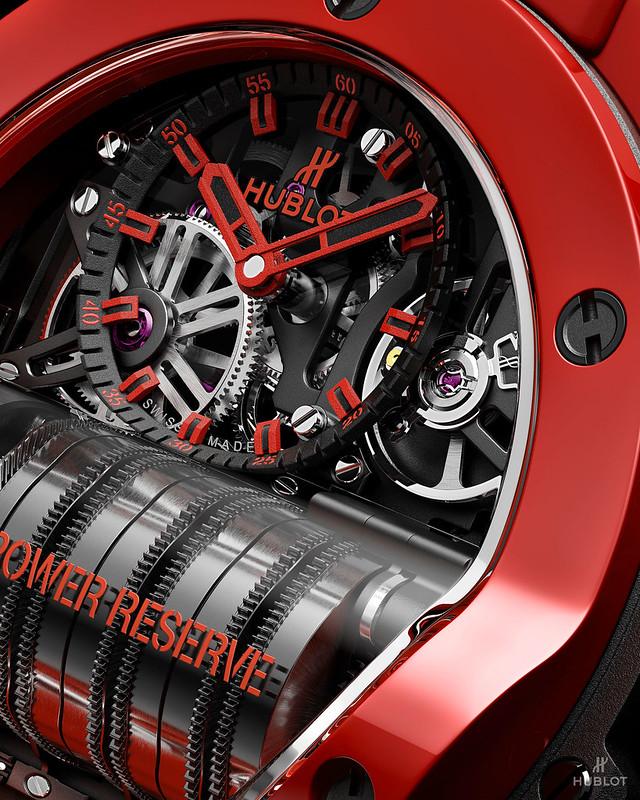 Big Bang MP-11 魔力紅陶瓷腕錶 (4)
