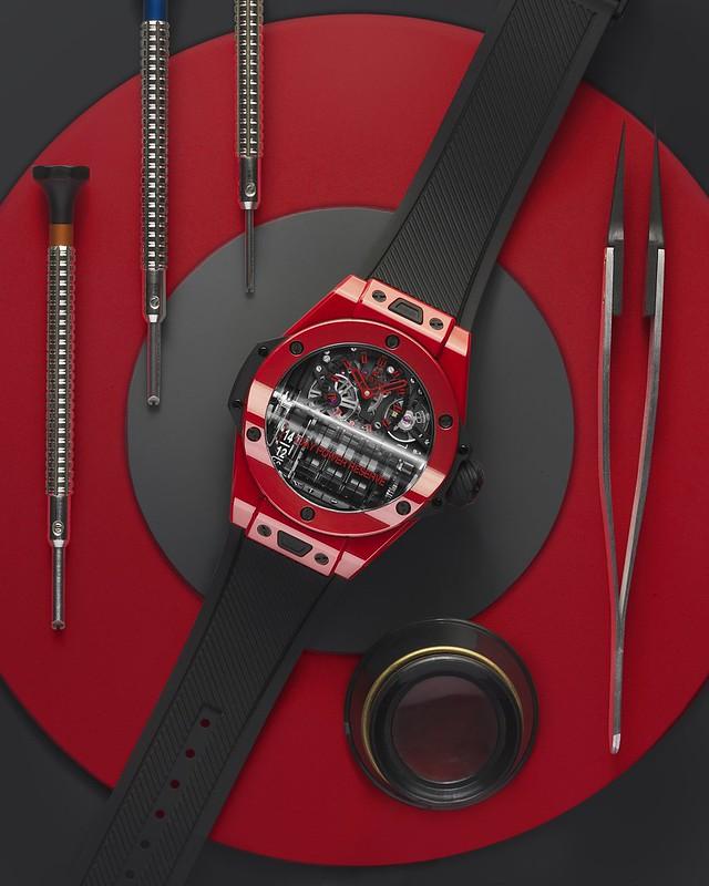 Big Bang MP-11 魔力紅陶瓷腕錶 (2)