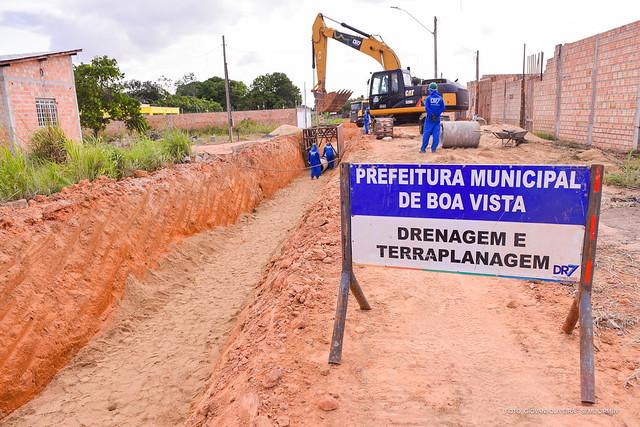 2021.02.09 Obras de Drenagem Cidade Universitária - Ft Giovani Oliveira