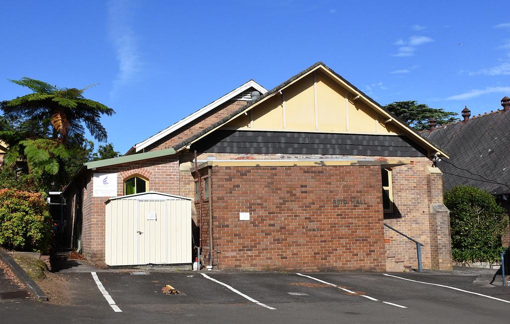 Reid Hall, St Luke's Presbyterian Church, Roseville, Sydney, NSW.
