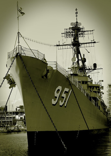 destroyer turnerjoy bremerton warship usn unitedstatesnavy ship boat water navy museum museumship sepia blackandwhite outdoors monochrome dd951 forestsherman
