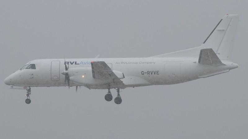 G-RVVE RVL AVIATION SAAB 340B(F)
