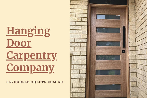 Affordable Hanging Door Carpentry Company in Kellyville Ridge