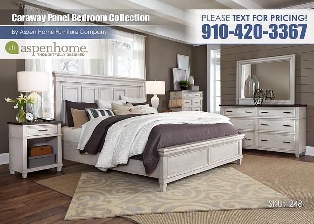 Caraway Panel Bedroom I248-R-415_406_407_451N_453_456_462