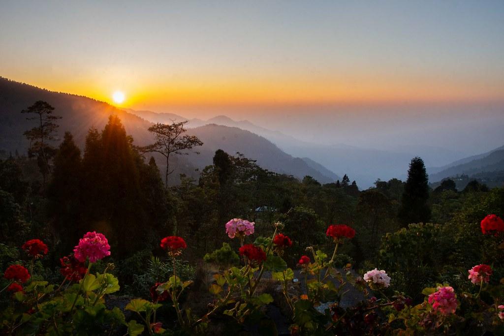 Sunrise from Sherpa Gaon