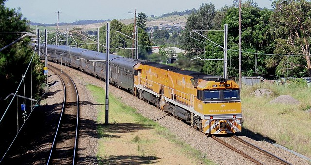 NR30 & NR31 6AT8 GREAT SOUTHERN RAIL CRUISE - TERALBA  9th Feb 2021.