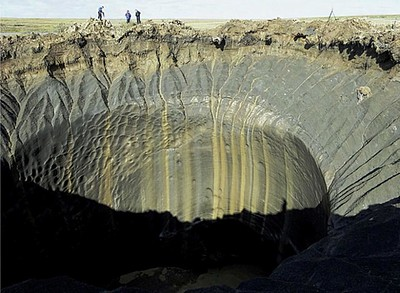 21-02-13 Methane Crater in Siberia