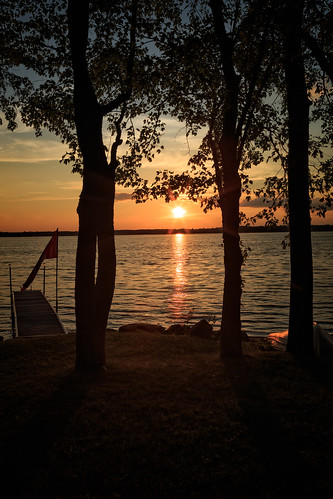lakepark lakeparkroad carletonplace ontario canada sunset mississippilake hdr