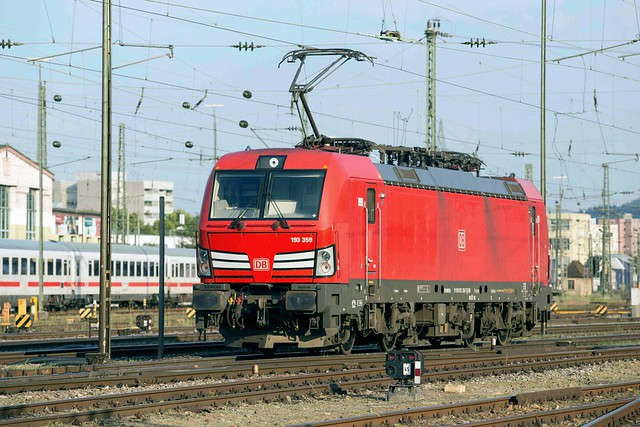 DB Cargo 193 359 Basel Badischer Bahnhof