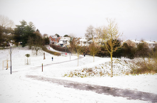 landscapes winter snow parks outdoor nature path buildings trees lesnesabbey abbeywood london