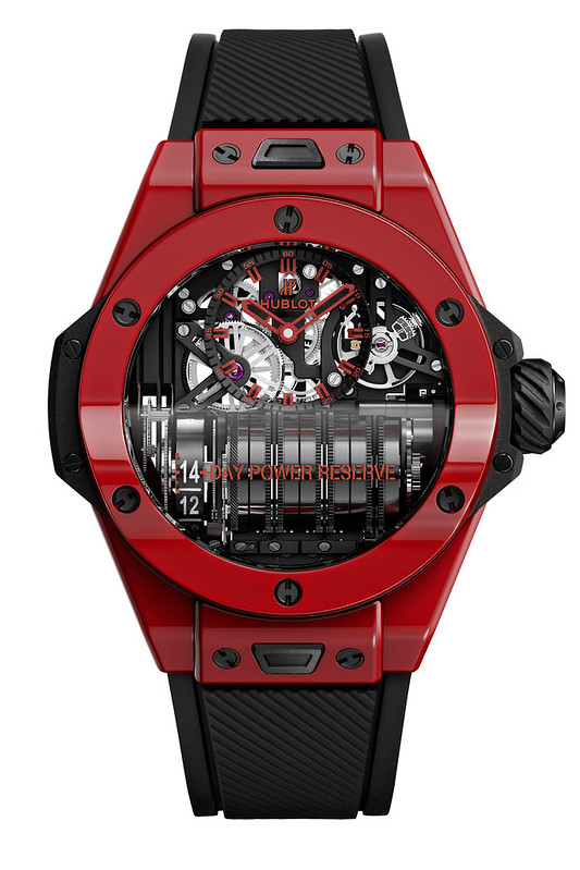 Big Bang MP-11 魔力紅陶瓷腕錶 (3)