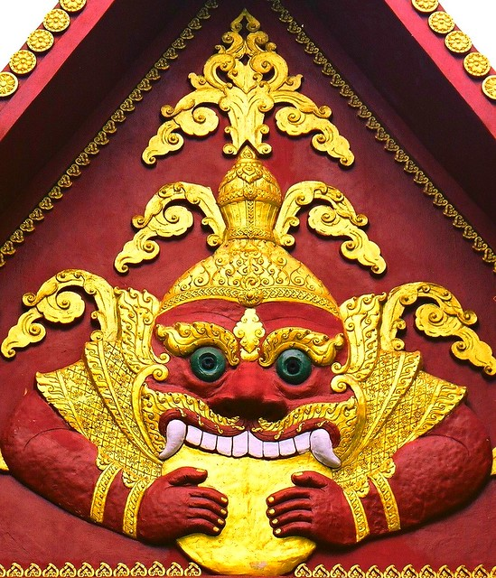 Koh Samui island Khunaram temple