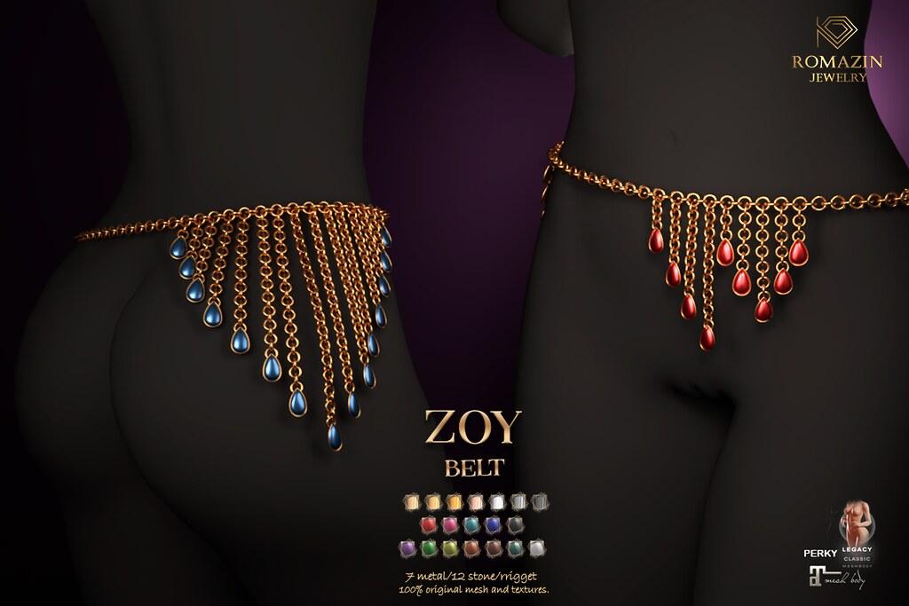 Romazin – Belt <Zoy>@Fetish Fair