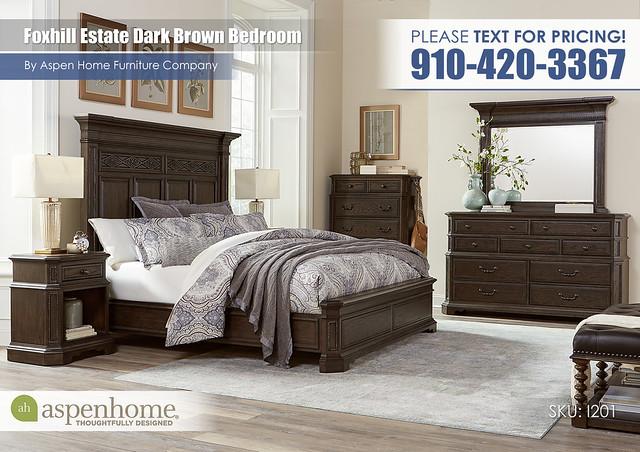 Foxhill Dark Brown Bedroom I201-R-415_407_406_451_454_463_456