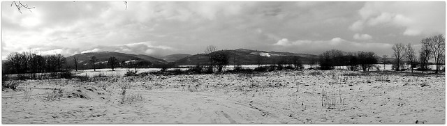 Zima w górach - Winter in the mountains