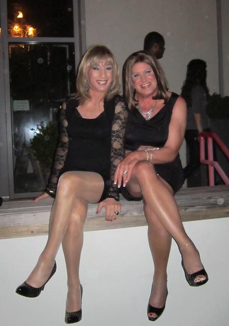 Gina and me at Watermark.