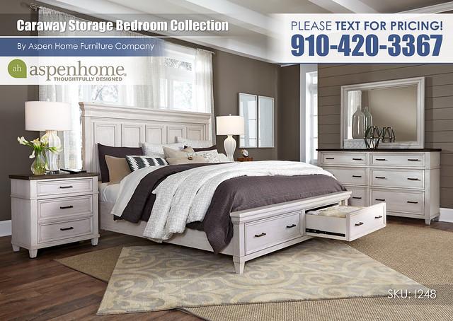 Caraway Storage Bedroom I248-R-415_406_407D_450_453_462_Open