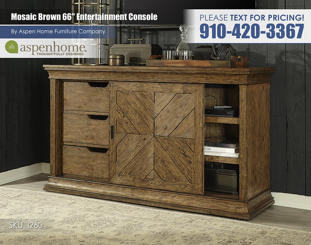 Mosaic Brown 66 in Console I260-264-PEC_BTY