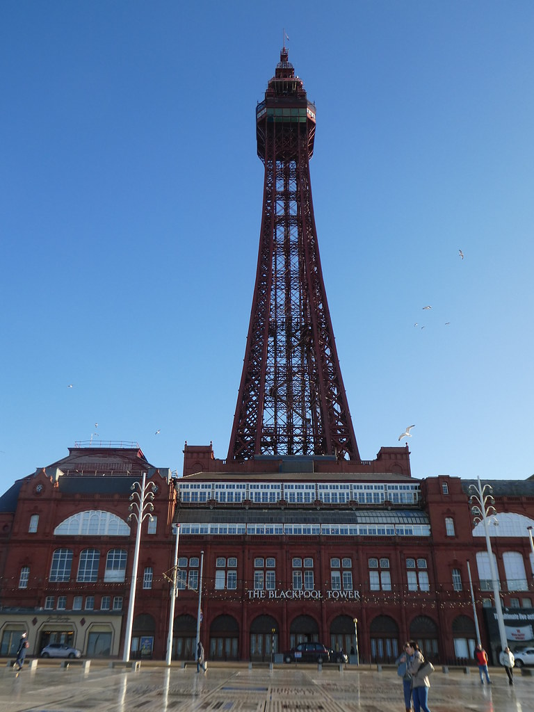 Festival Place and Blackpool Tower