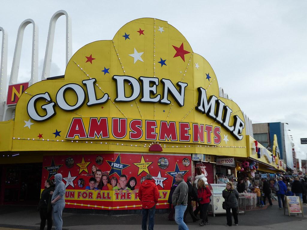 Golden Mile, Blackpool