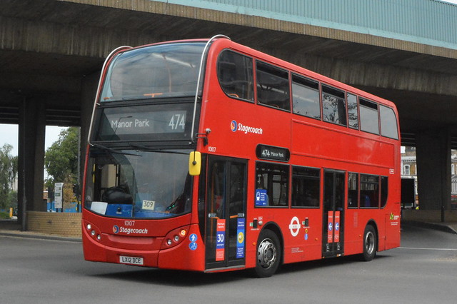 LX12 DCE (10107) Stagecoach London