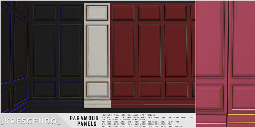 [Kres] Paramour Panels