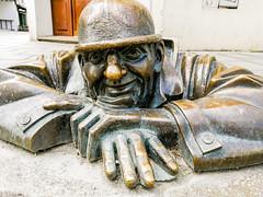 Bratislava, Man at work