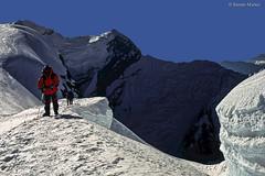 MERAPK 286 Llegando a la cumbre del Mera Peak, 6.476 m., Himalaya de Nepal