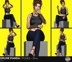 Drunk Panda - Diva