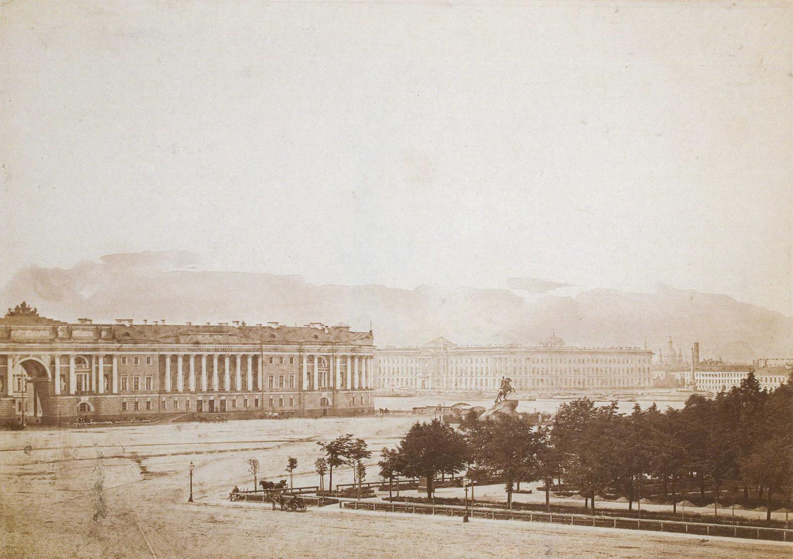 Сенатская площадь. 1853