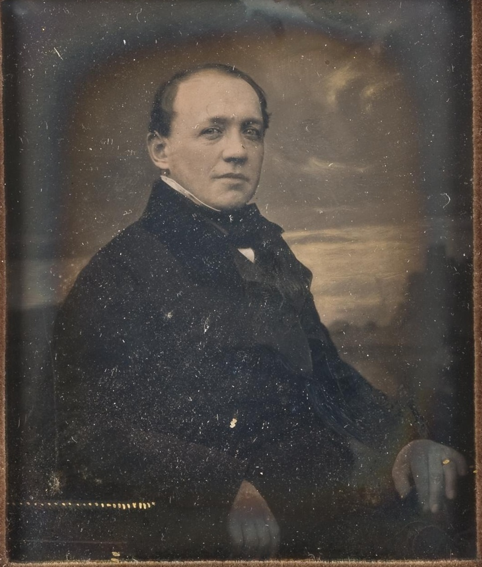 Портрет мужчины в темном сюртуке. 1885