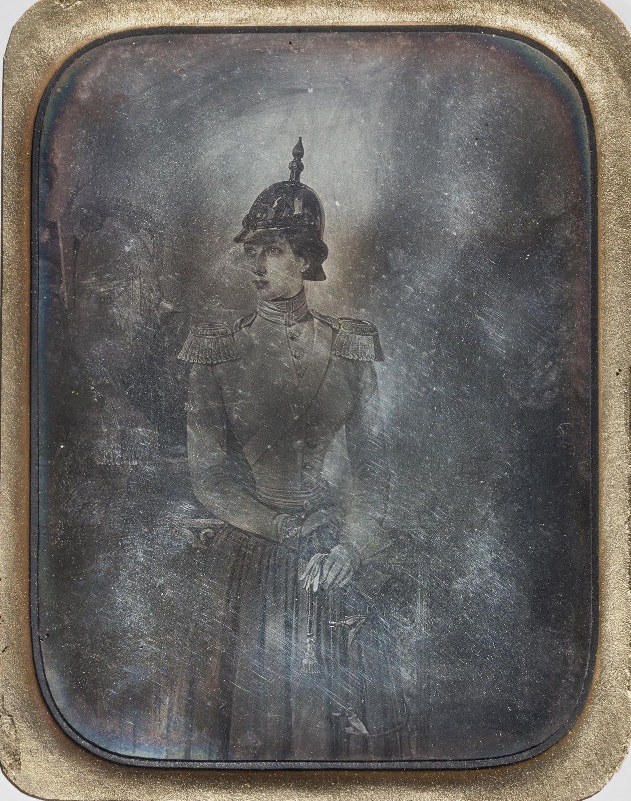 Портрет великой княгини Александры Иосифовны