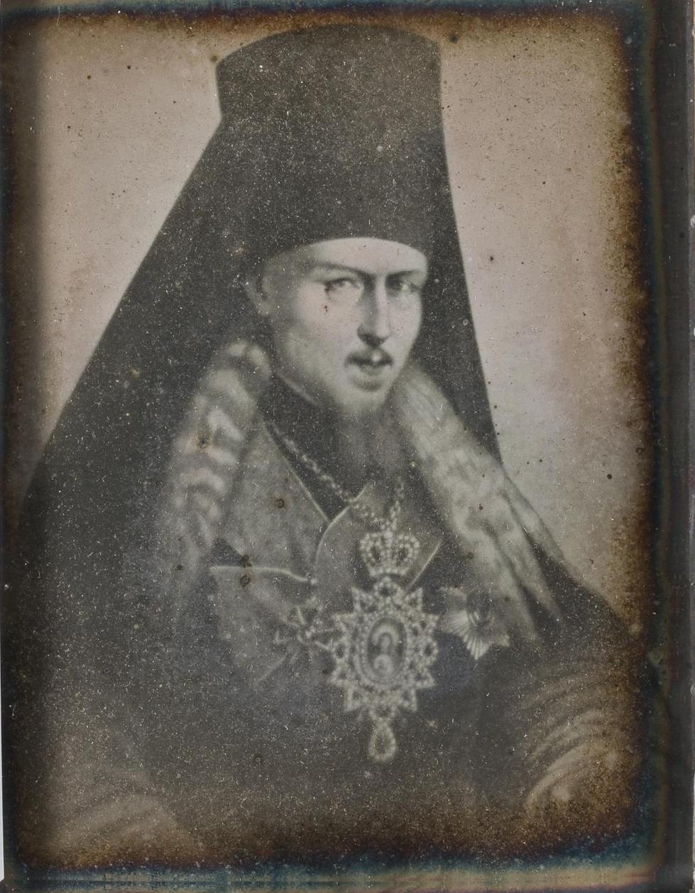 Портрет архиепископа Исидора. 1850-е